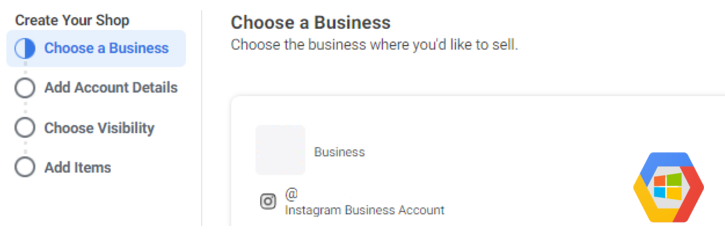 Choose a business