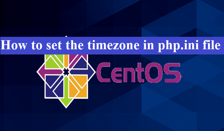 How to set the timezone in php.ini file