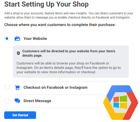 Start setting up your shop
